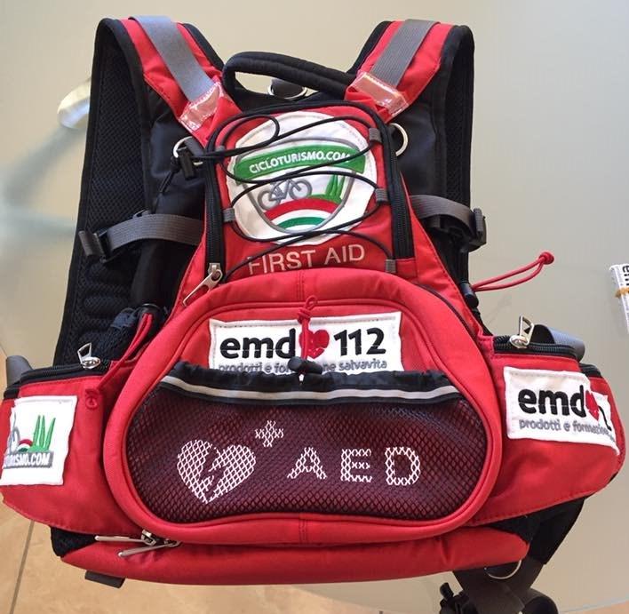 Zaino defibrillatore Patagonia C2C