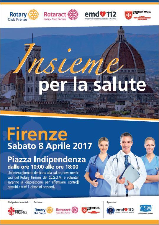 Insieme Per La Salute Firenze visite mediche gratuite Rotary