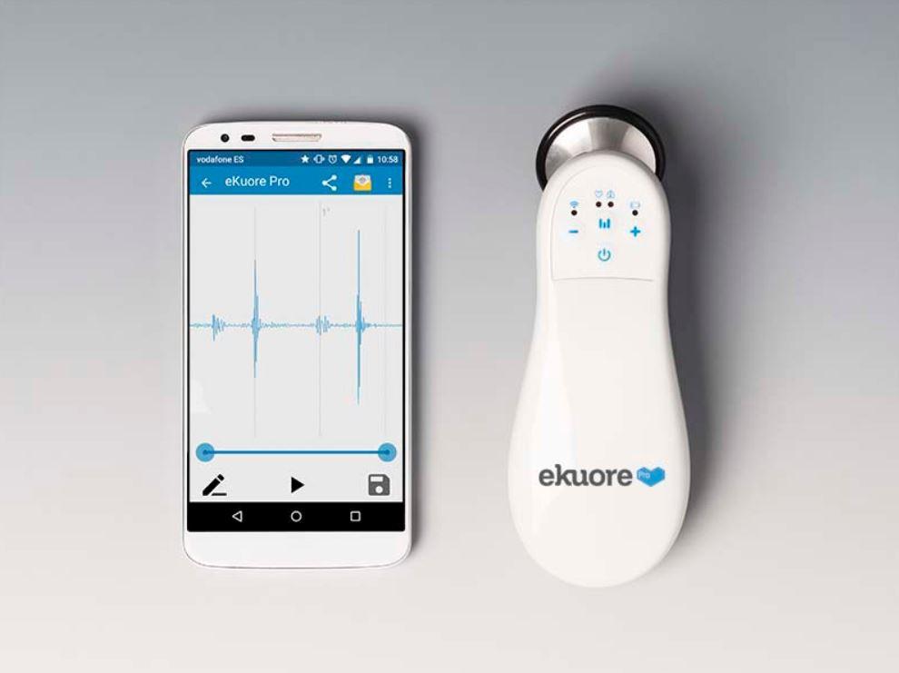 eKuore Stetoscopio Elettronico Wireless