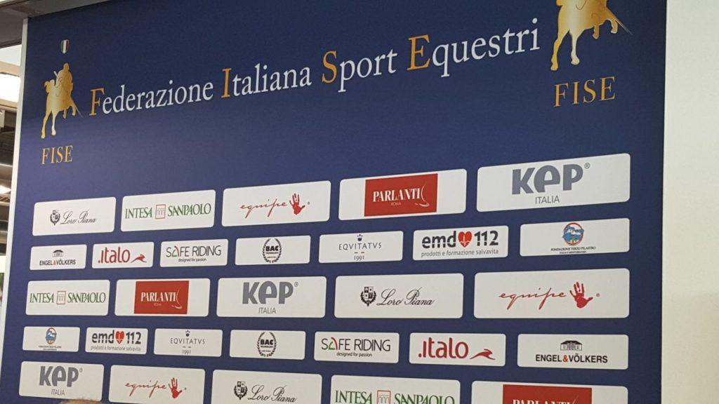 EMD112 partner FISE sponsor Fiera Cavalli Verona 2017