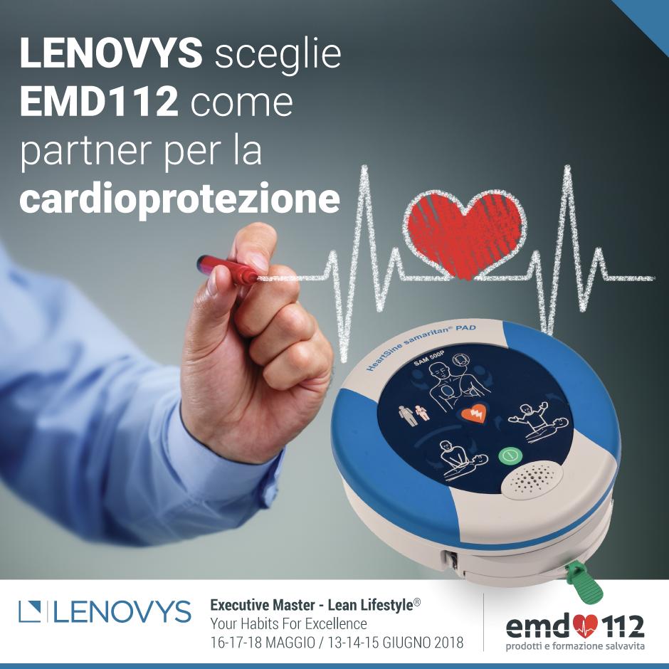 Lenovys sceglie i defibrillatori samaritan