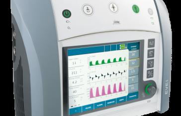 Ventilatore Polmonare EVE IN per terapia intensiva e trasporto intra-ospedaliero