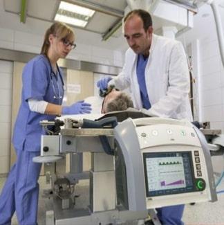 Ventilatore Polmonare EVE IN terapia intensiva