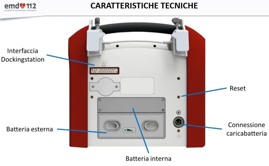 Ventilatore Polmonare EVE TR caratteristiche tecniche 2