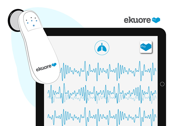 stetoscopio wifi ekuore wireless registrazione pc ipad