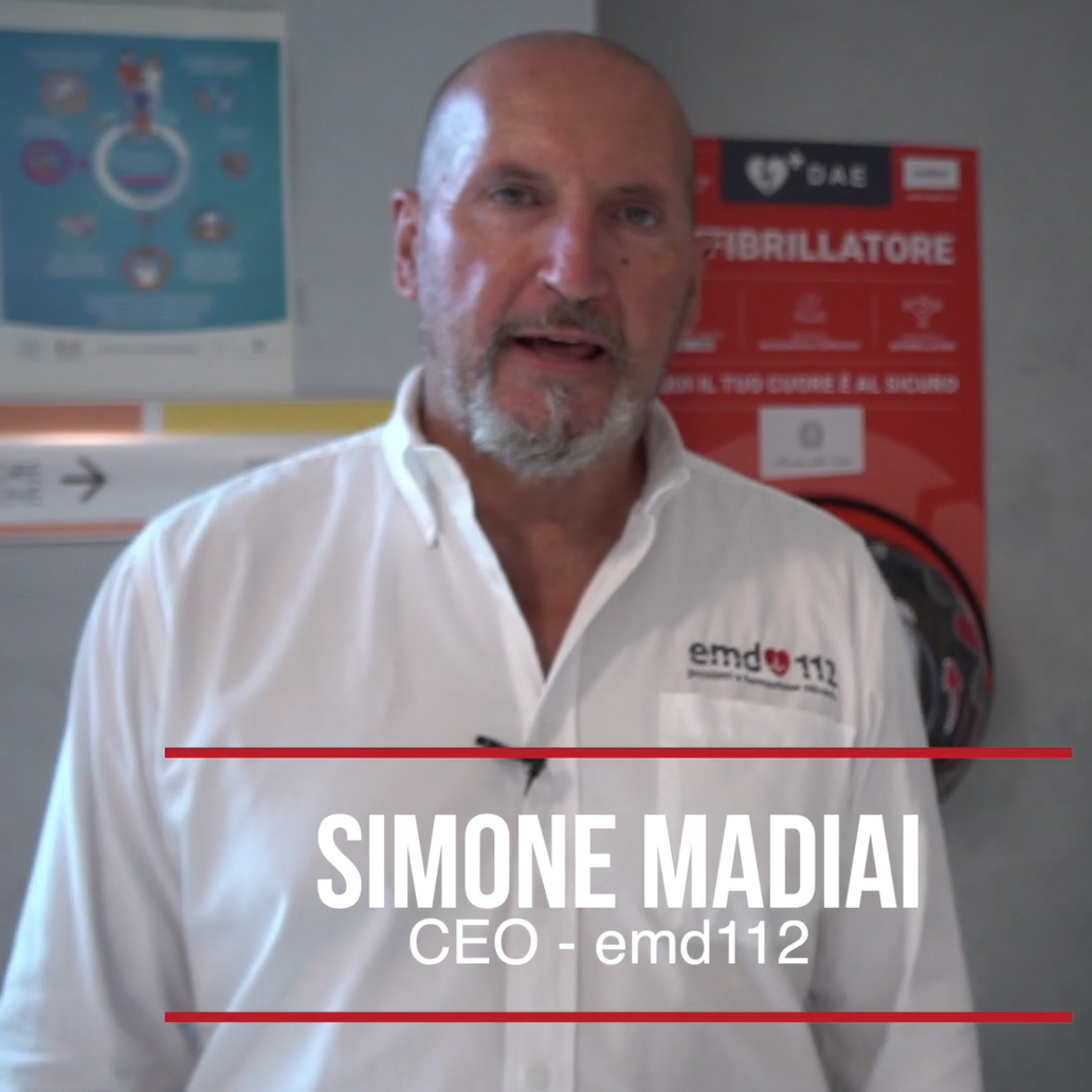 Simone Madiai - CEO EMD112